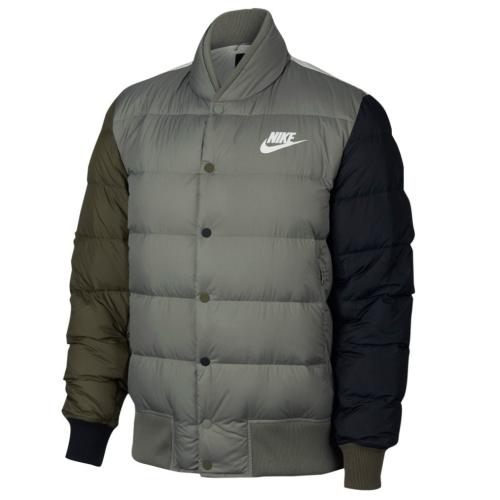 036be5b02f7 머스트잇(MUSTIT) - Nike - 나이키 나이키 버튼 다운자켓 패딩 봄버자켓 ...