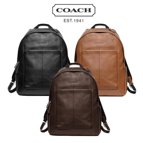 0777ebf5129 머스트잇(MUSTIT) - [COACH] 코치 헤리티지 레더 백팩 F70747 /코치남성 ...