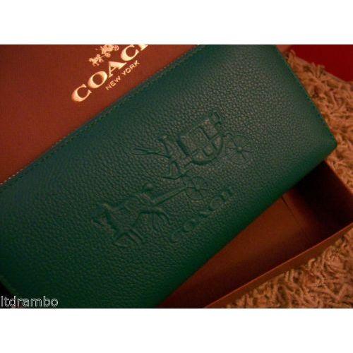 sale retailer 23989 7c685 머스트잇(MUSTIT) - 코치 52401 지갑~초록~♥