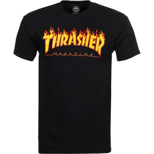 b63a7a1f329 Thrasher. [정품]트레셔 쓰레셔 티셔츠 불꽃로고 블랙 외 색상 다양 Thrasher Flame T-Shirt