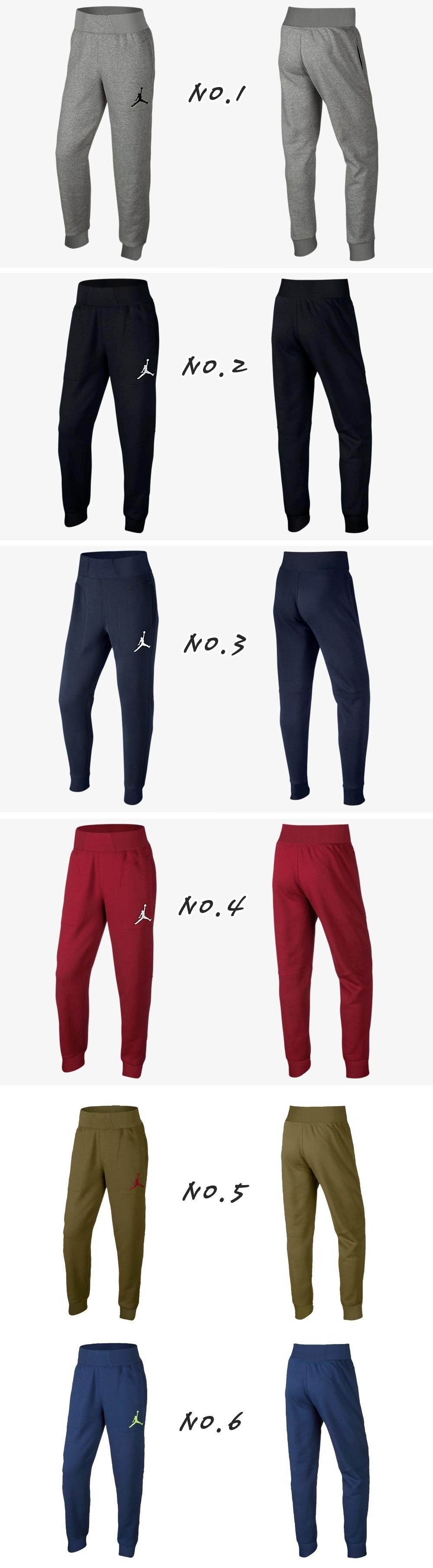 bee99bc0406 머스트잇(MUSTIT) - [100%정품] 나이키 조던 바시티 조거팬츠(6컬러) 조던바지 / 점프맨 트레이닝복 / 운동복 / 남자바지  / 나이키 조거팬츠