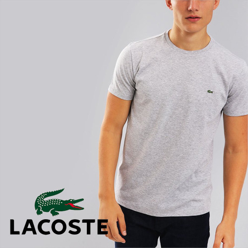 a086b1fe35b 머스트잇(MUSTIT) - 라코스테 로고 기본 저지 피마 크루넥 반팔티 티셔츠 ...