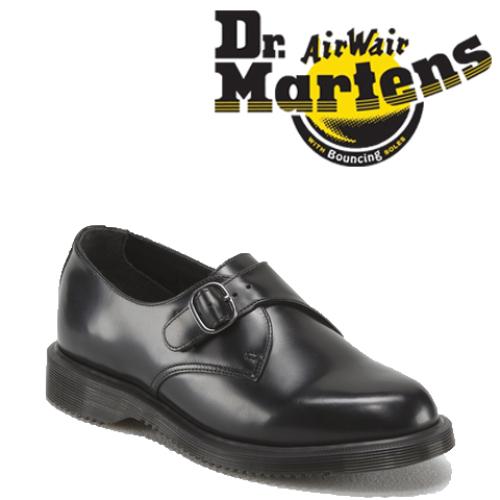 e8b029a4c62 머스트잇(MUSTIT) - 닥터마틴 론(LORNE ) 몽크 스트랩 슈즈 블랙 ...