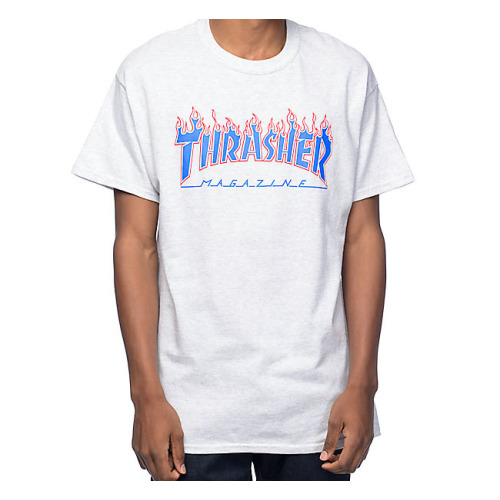 552d9a68d8e 머스트잇(MUSTIT) - Thrasher Flame Logo T-Shirt 트레셔 쓰레셔 불꽃 ...