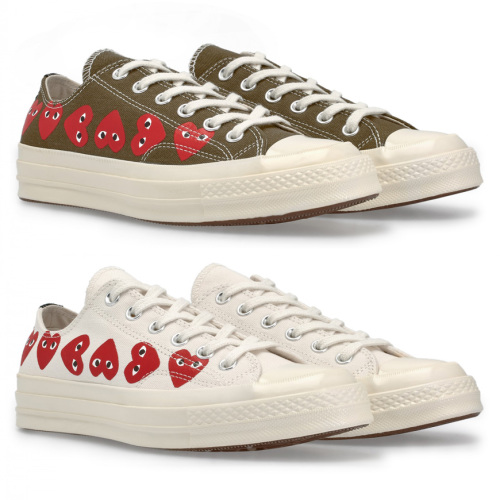 d320b803182 머스트잇(MUSTIT) - 꼼데가르송 신상 Play Converse Multi Heart Chuck ...