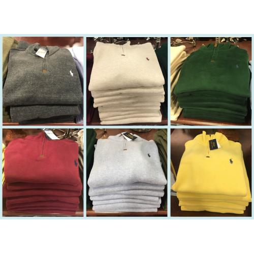 [해외] 폴로 랄프로렌 남성 하프 집업 스웨터 8컬러/폴로 남성 스웨터/폴로 남성 하프 집업