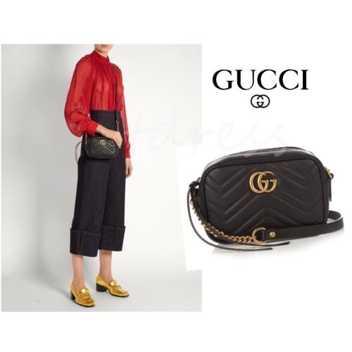 c062508f2fd 머스트잇(MUSTIT) - Gucci 구찌 마몬트 큍트 레더 크로스 바디백 구찌 ...