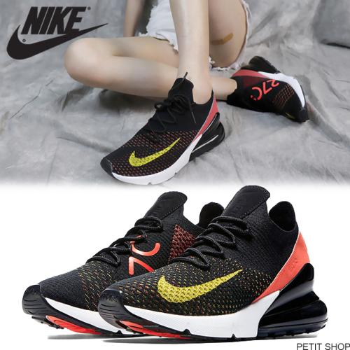 318443b2d52 상품이미지. 상품이미지. 상품이미지. 롤링이미지. Nike. [여성] 나이키 에어맥스 270 플라이니트 옐로우 스트라이크 AH6803 -003