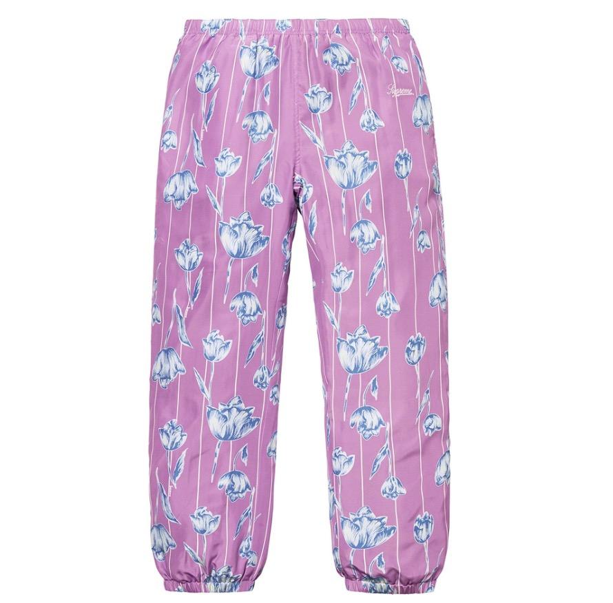 ????(MUSTIT) [????] Supreme Floral Silk Track Pant